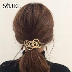 Hair Stick Original 2020 New Boho Hair Accessories Metal Gold Filled X Shaped Bun Holder Charming Vintage Bun Cage Hairpin