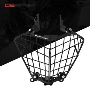 DESRIK Motorcycle Headlight Protection Cover Grille Guard For Kawasaki Versys 300X X300 X-300 2015-2017 Accessories