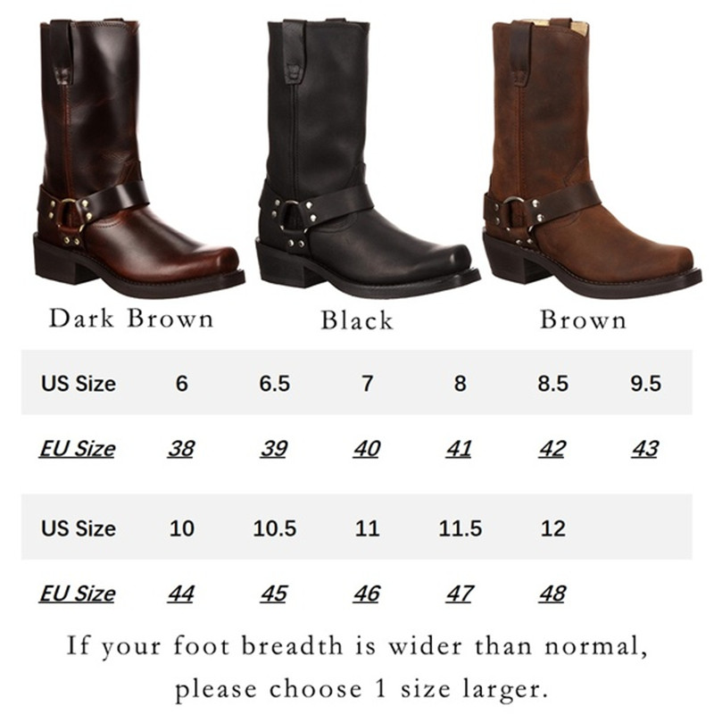Woman Knee High Boots Combat Vintage Leather Boots Rider Horse Boot (12)