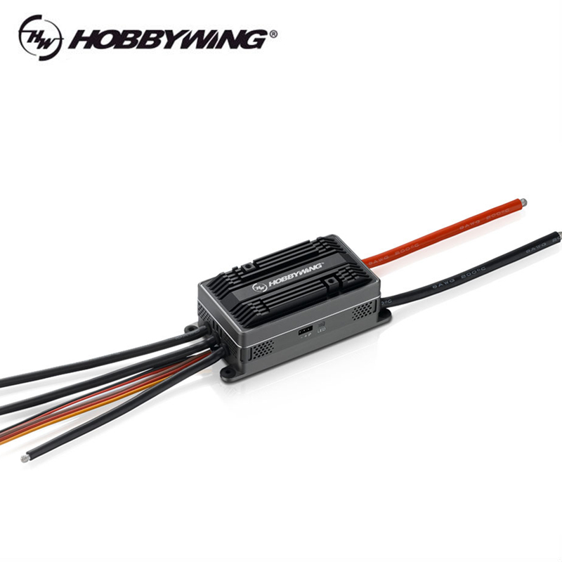 hobbywing platina hv 200a v41 6 14 s lipo alta tensao esc para 700l helicoptero eletrico 02