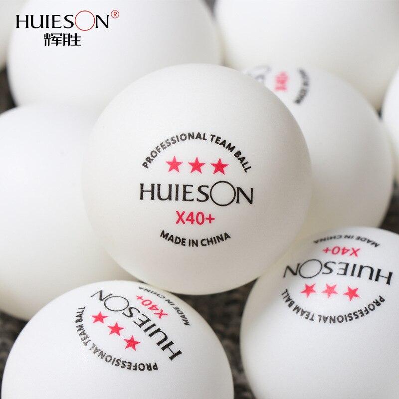 50/100 шт 3 звезды мяч для пинг понга Профессиональный X40 + ABS 2,8 г мячи для настольного тенниса Белый Оранжевый любительский усиленный тренирово...