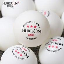 50/100 pièces 3 étoiles balle de Ping-pong professionnel X40 + ABS 2.8g balles de Tennis de Table blanc Orange Amateur avancé formation équipe balles