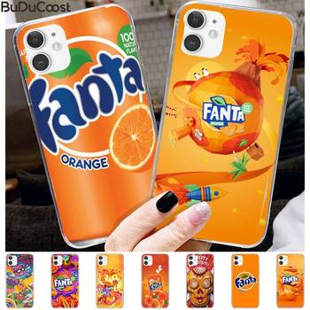 Fanta Drink Orange Painted Phone Case For Iphone 11 Pro11 Pro Max X 8 7 6 6S Plus 5 5S SE Cass image