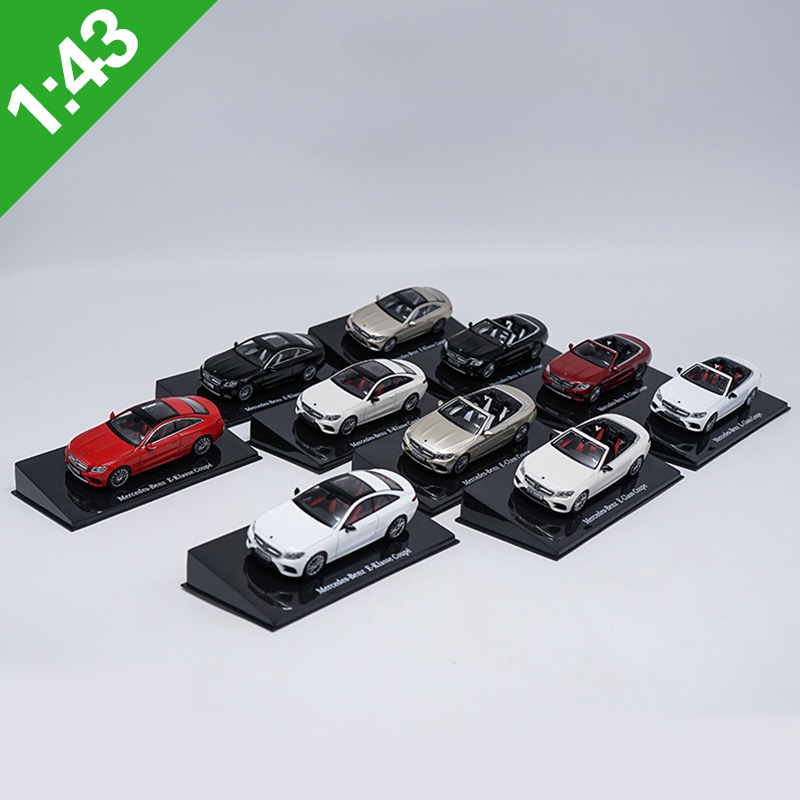 1:43 E300 E-Kasse Coupe Alloy Model Car Static High Simulation Metal Model Vehicles With Original Box