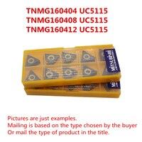 MITSUBISHI TNMG160404 UC5115/TNMG160408 UC5115/TNMG160412 UC5115 CNC Turning Carbide inserts Cast iron, Castings Free shipping