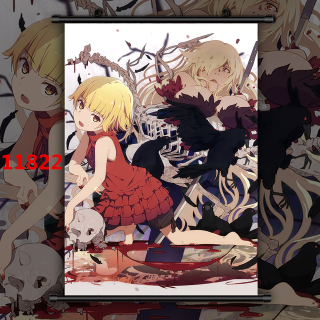 Monogatari Oshino Shinobu HD Canvas Wall Poster Scroll Room Decor