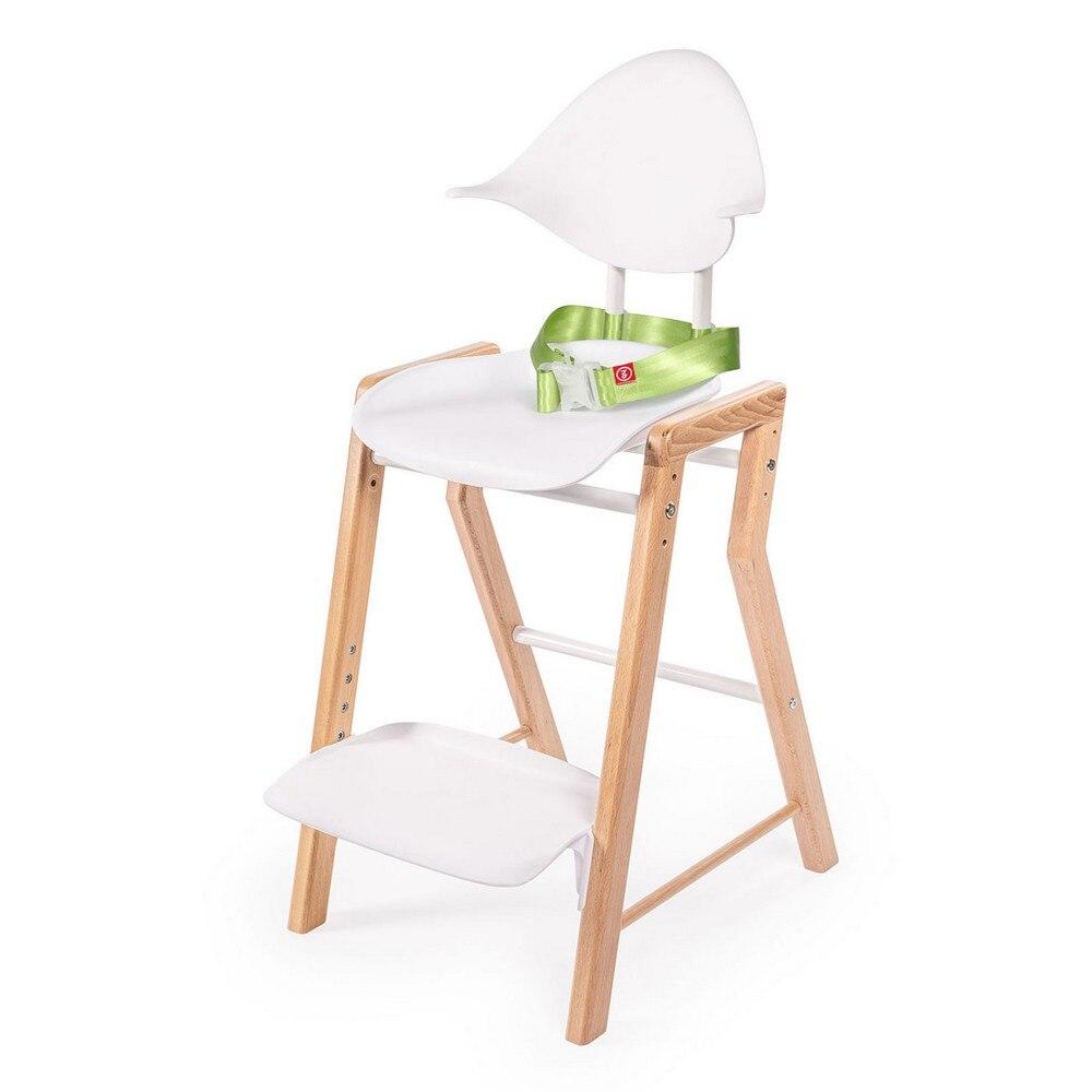 Chaises hautes Happy Baby eczel chaise haute pour enfants alimentation pour garçons et filles pour bébé Table nouveau-né bois blanc