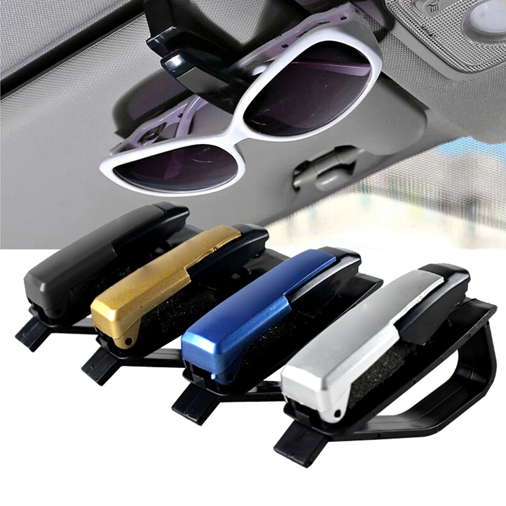 Sunglasses Glasses Sun Visor Card Pen Clip Car Accessory