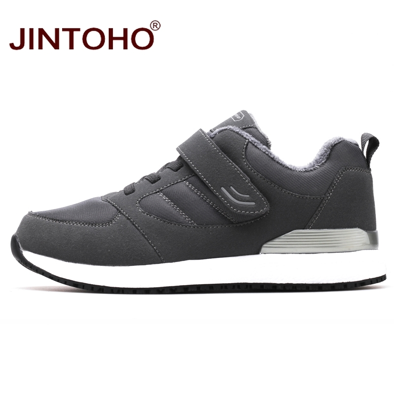 Image 3 - JINTOHO Winter Leather Sneakers Fashion Unisex Leather Shoes Breathable Men Sneakers Casual Male Shoes Men Winter Snow ShoesMens Casual Shoes   -