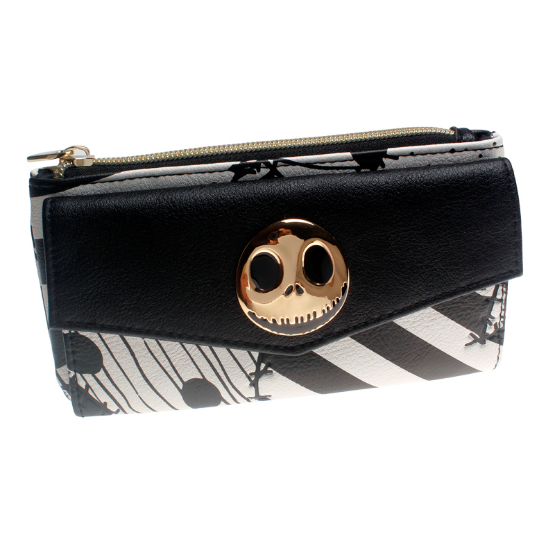The Nightmare Before Christmas Women Wallets Female Coins Purse Card Holder Dft5526