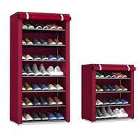 Staubdicht Hause Schuh Racks Organizer Mehrere Schichten Schuhe Regal Stehen Halter Tür Schuh Rack Sparen Raum Hause Kleiderschrank Lagerung