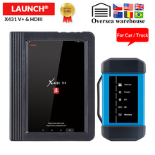 Lansmanı X431 V + ve X431 HD ağır teşhis aracı Bluetooth/wifi obd2 otomatik kod okuyucu tarayıcı test 12V/24V kamyon