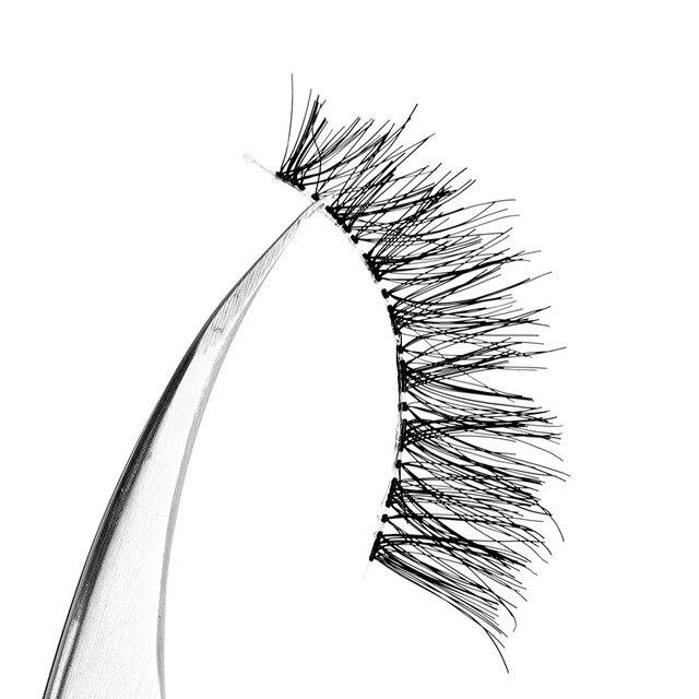 5 Pairs New Fashion Women Soft Natural Long Cross Fake Eye Lashes Handmade Thick False Eyelashes  Extension Beauty Makeup Tools 5