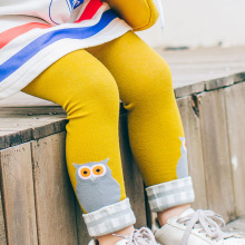 Распродажа! Модные Штаны для малышей; колготки для девочек с героями мультфильмов; Хлопковые Штаны для новорожденных; повседневные детские брюки; одежда
