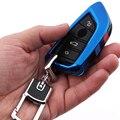 Чехол для ключей с гальваническим покрытием, чехол для ключей для BMW F15 F16 F48 G30 F85 G11 X1 X5 X6 M 2018 X3 X4 35i 50i