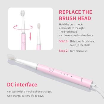 Электрическая зубная щетка SEAGO SG-548 6