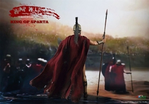 Image 4 - BY ART BY G01 300 Warriors King of SPARTA with 2 Heads 1/12 Action FIGURE