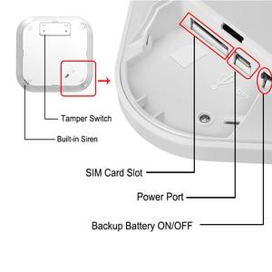 Image 5 - KONLEN Tuya WIFI GSM Alarm System Wireless Pir Motion Sensor Tür Detektor Für Home Security Smart Leben APP Google Alexa unterstützung