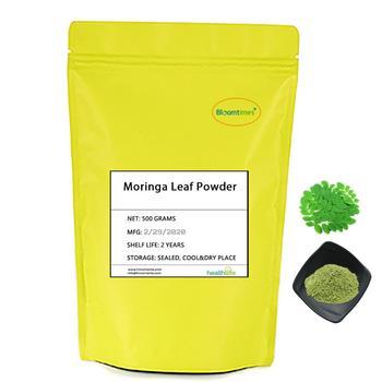 100% Natural Moringa Leaf Powder 500g/lot Moringa Oleifera Leaf Powder