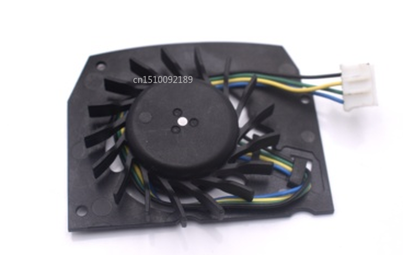 Free Shipping For Magic MBT4412HB-W09 DC 12V 0.24A 4-wire 54x45x34mm Server Bare Fan