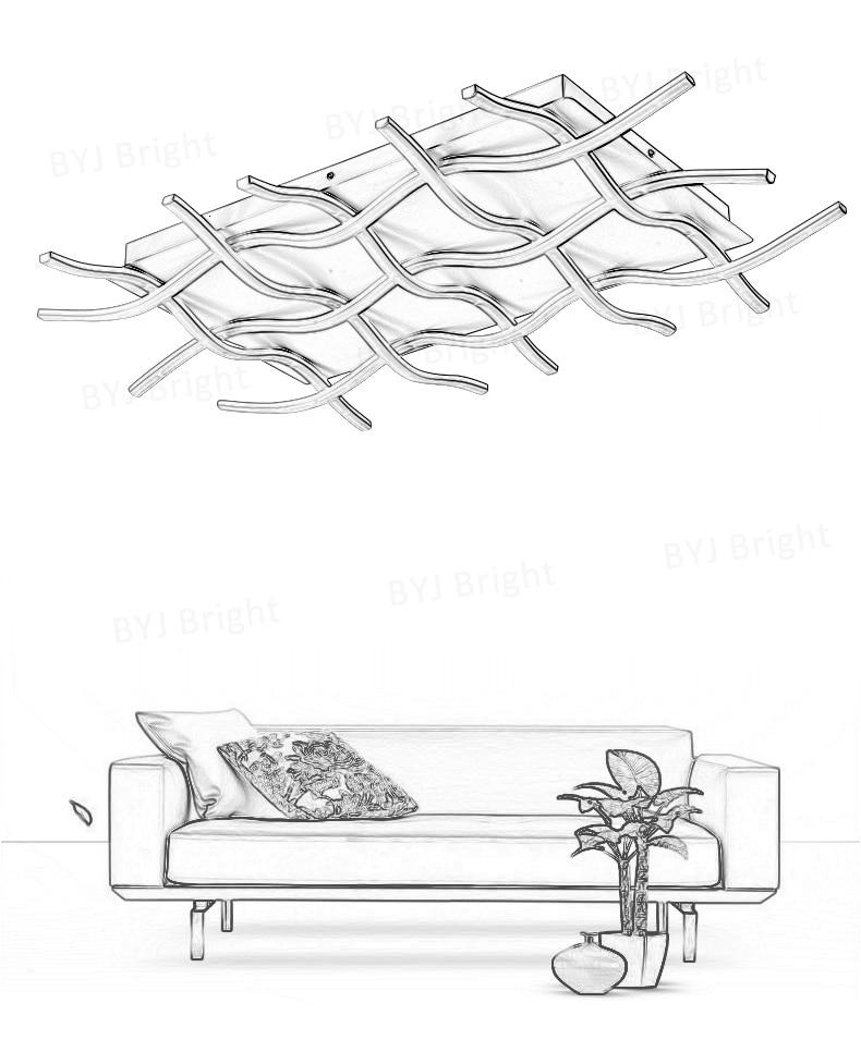 H18d2f59c1add463388a19848bdf89937F Homelight | Modern Floor Lamps | Creative Modern LED Ceiling Lights For Living Room Bedroom Kitchen Black/White Deco Ceiling Lamp Indoor Home Lighting Fixtures 001
