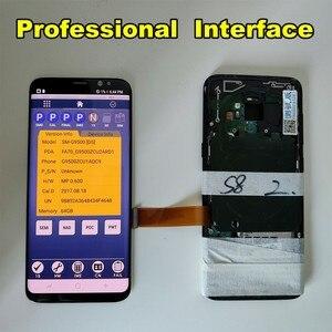 Image 5 - Amoled 液晶サムスンのためのフレーム S8 G950 G950U G950F S8 プラス G955 G955F ディスプレイバーン + タッチスクリーンデジタイザアセンブリ