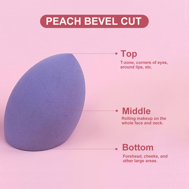 8pcs New Beauty Egg Set Gourd Water Drop Puff  Makeup Puff SetColorful Cushion Cosmestic Sponge Egg Tool Wet and Dry Use 4