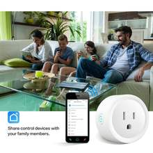 WIFI 10A Smart Home Socket Measuring Socket Safety Intelligent Graffiti Program IFTTT Tmall Elf Electrical Instruments(China)