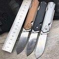 SANRENMU 7117 многофункциональный карманный EDC Складной нож с деревянной пилой режущий резак стекло Выключатель для аварийного выживания кемпин...