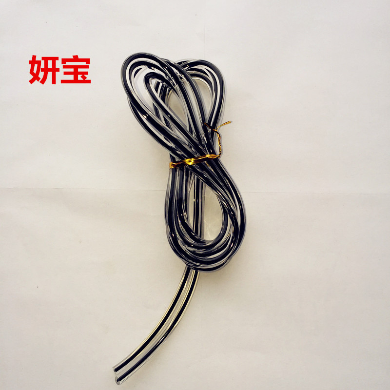 Manufacturers Supply Plastic Skipping Rope Jump Rope Accessories PVC Single Lanyard Students The Academic Test For The Junior Hi