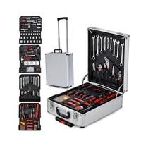 186 Sets Of Aluminum Alloy Box Tool Set Hardware Tool Set Bar Box Set Tool Retail Wholesale With Advanced Box