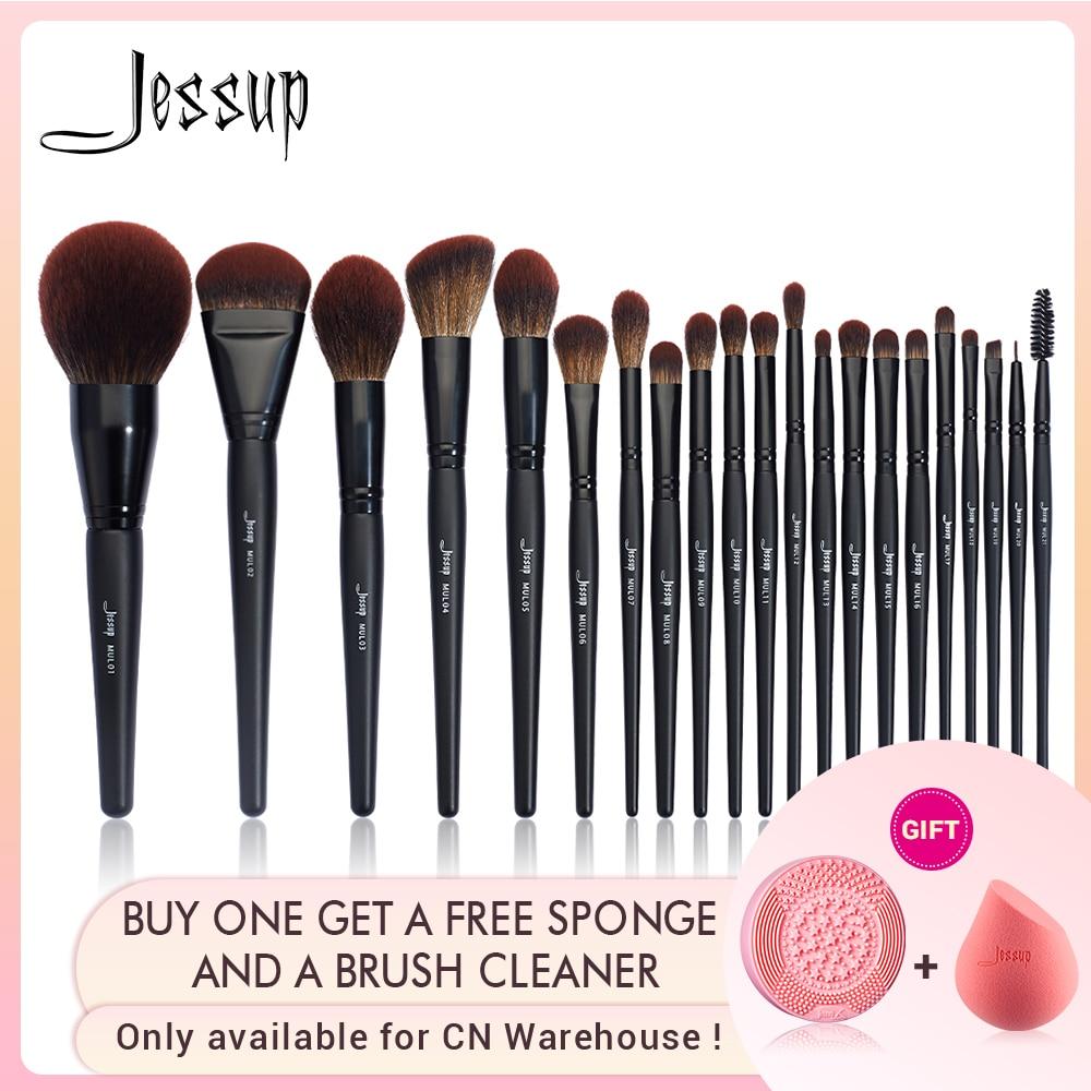 Jessup Eyeshadow Concealer Foundation-Brush-Powder Brushes-Brushes Makeup Synthetic-Hair