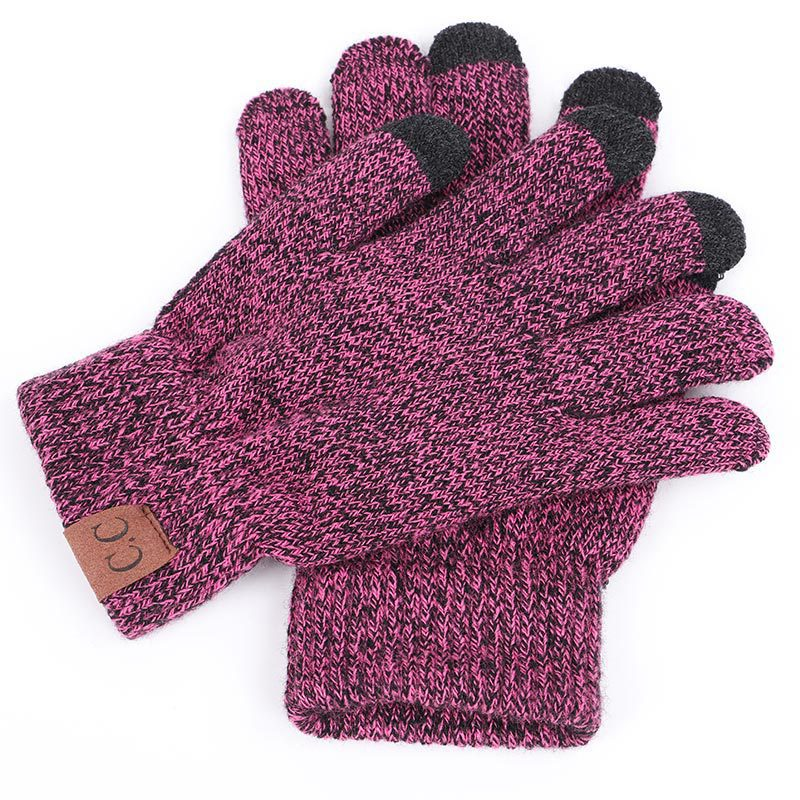 Winter Men's Women's Cycling Gloves Computer Touch Gloves Multi-Color
