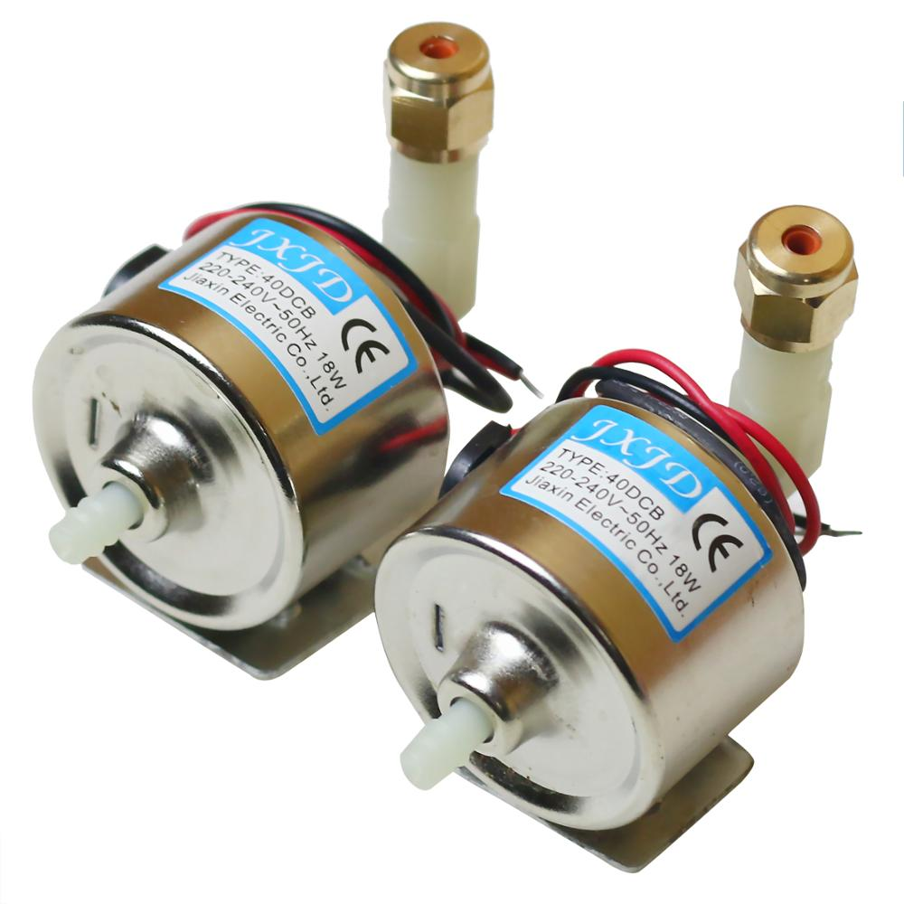 2pcs/lot AC 110V-220V 18W Oil Pump 40DCB Stage Party Parts For 400w 600w 900w Fog Smoke Machine