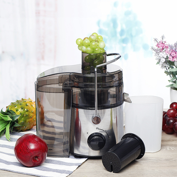 220V 1000W Stainless Steel Juicers 2 Speed Electric Juice Extractor Household Fruit Vegetables Drinking Machine for Home Kitchen 2
