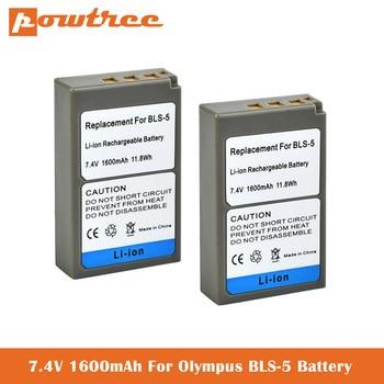 e PS-BLS5 BLS-5 BLS5 BLS-50 BLS50 Camera Battery for Olympus PEN E-PL2,E-PL5,E-PL6,E-PL7,E-PM2,OM-D E-M10,E-M10 II, Stylus1