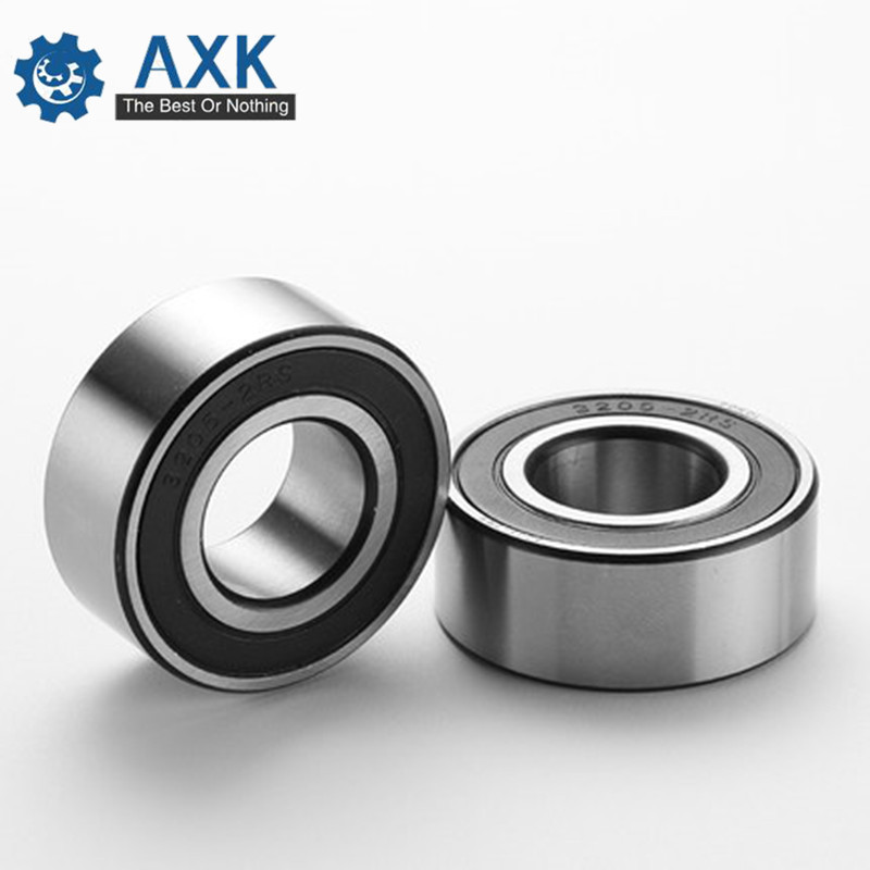 Free Shipping  ( 1 PC ) 3200 3201 3202 3203 3204 3205 3206 3207 3208 Double Row Angular Contact Ball Bearings