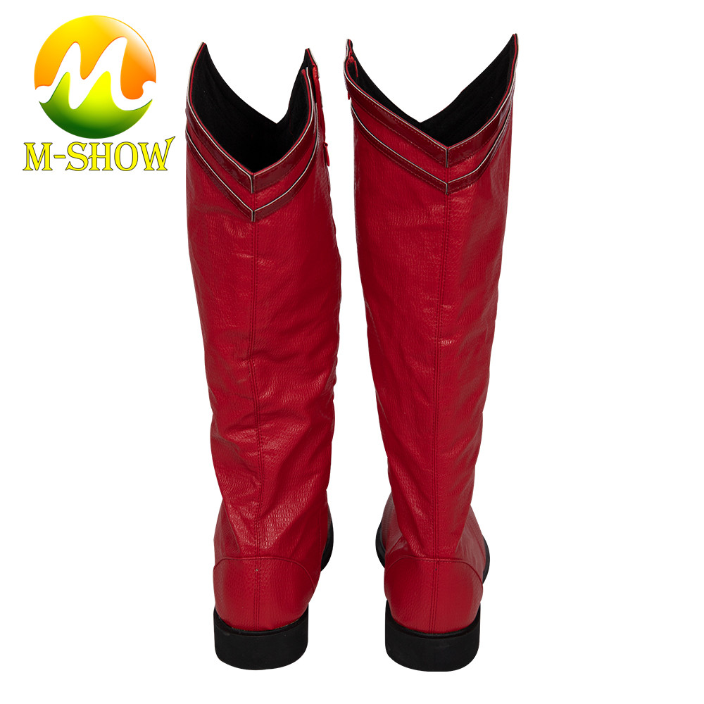 Superman Superhero Rot Red Stiefel Schuhe boots shoes Kostüme Cosplay Costume