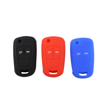 Color My Life Silicone Car Key Protection Holder Cover Bag Key Case for Opel Astra Corsa ADAM Antara Meriva Zafira Insignia image