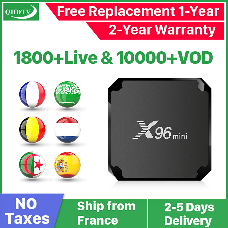 X96 Mini IPTV France Arabic Android IP TV Box QHDTV Arabic IPTV Subscription X96 IPTV Belgium Dutch French Algeria Arabic IP TV