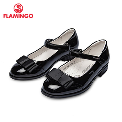 School shoes Flamingo 92T-JSD-1478/1479 shoes for girls leather insole shoes for children 31-37 #