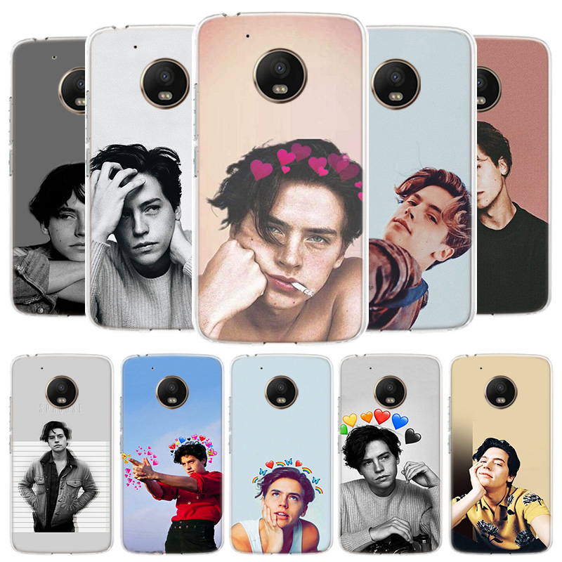 Riverdale Cole Sprouse Jughead Cover Phone Case For Motorola Moto G8 G7 G6 G5S G5 E4 Plus G4 E5 E6 Play Power One Action EU Gift