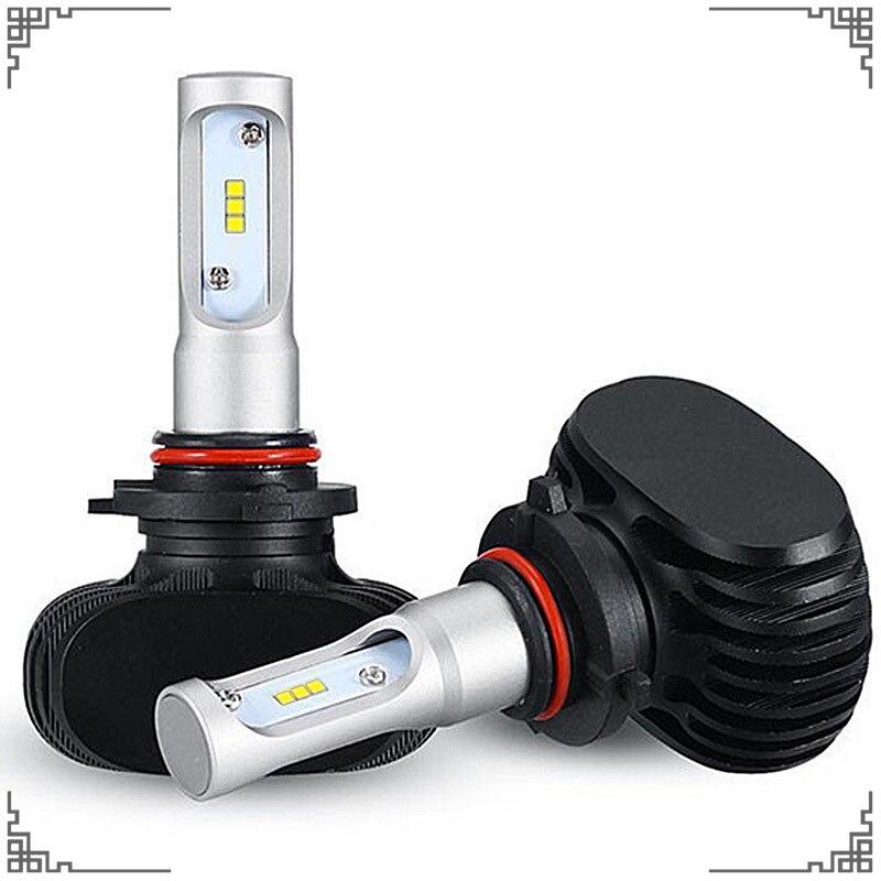 2X SEOUL CSP Auto Headlamps H4 H7 Headlights H1 H3 H11 9005 9006 LED Cars