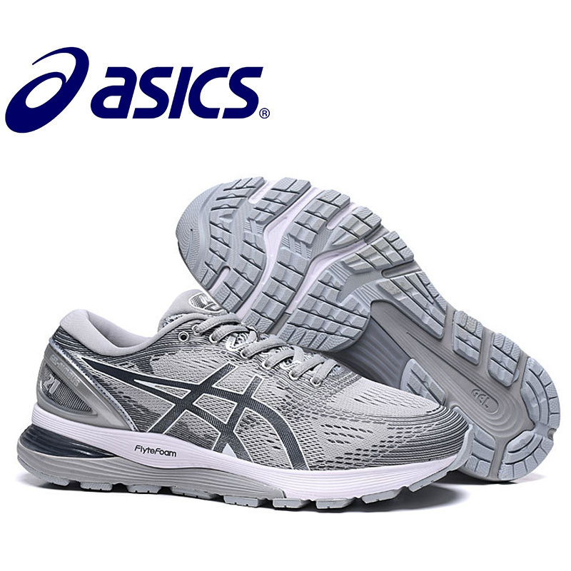 Original Men's Asics Running Shoes New Arrivals Asics Gel-NIMBUS 21 Men's Sports Shoes Size Eur 40-45 Asics Gel Nimbus 21