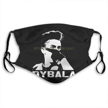 Máscara de Dybala para hombres y mujeres, máscara personalizada, máscara para hombres y mujeres