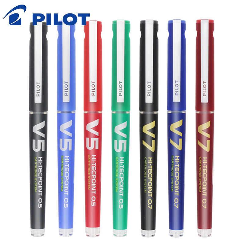 Pilot BXC-V5/V7 prosty płynny długopis żelowy wymienny tusz zdolny do wody wskaźnik kulowy Upgrade V5/V7 podpis igły