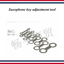 Saxophone tube key adjustment tool  9 PCS 0.5 mm thick Wind instrument repair tools