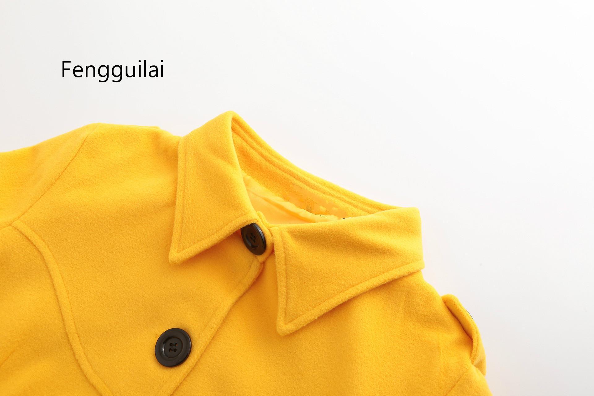 lana mujer de abrigo