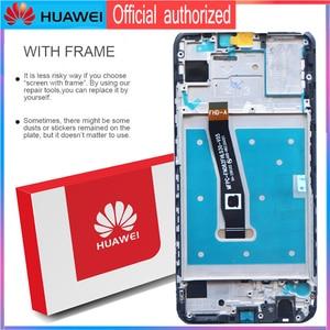 Image 3 - מקורי 6.21 10 מגע תצוגה עם מסגרת עבור Huawei P חכם 2019 LCD מסך מגע Digitizer עצרת POT LX1 l21 LX3