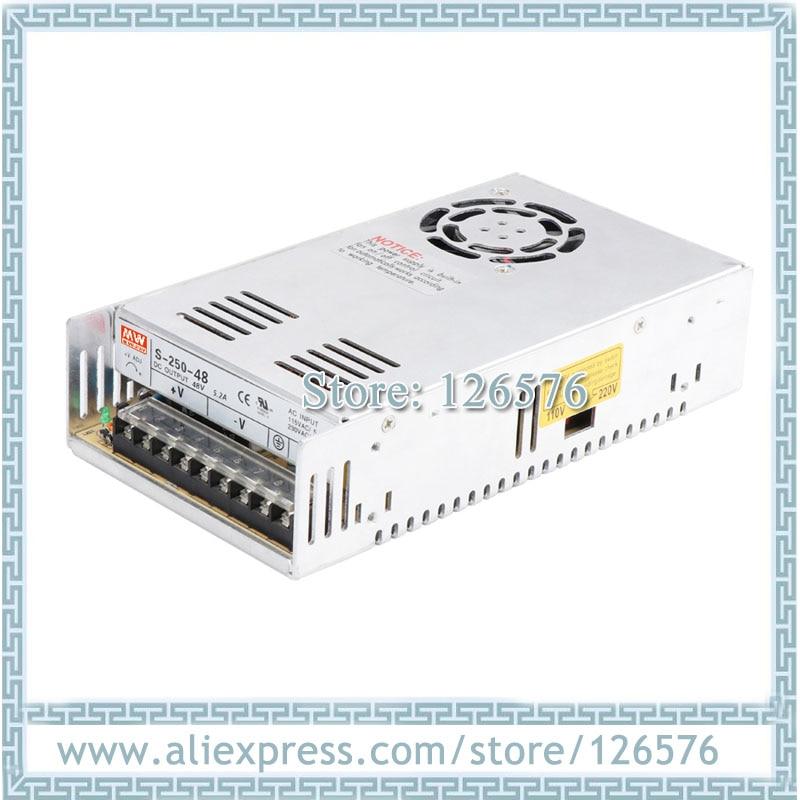 Источник питания 250 Вт вход AC220V/AC110V выход DC5V/DC12V/DC15V/DC24V/DC27V/DC36V/DC48V/DC110V импульсный источник питания